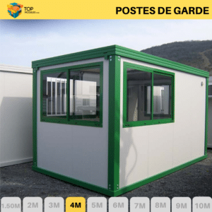 bungalows-poste-de-garde-top-modules-4m-vert