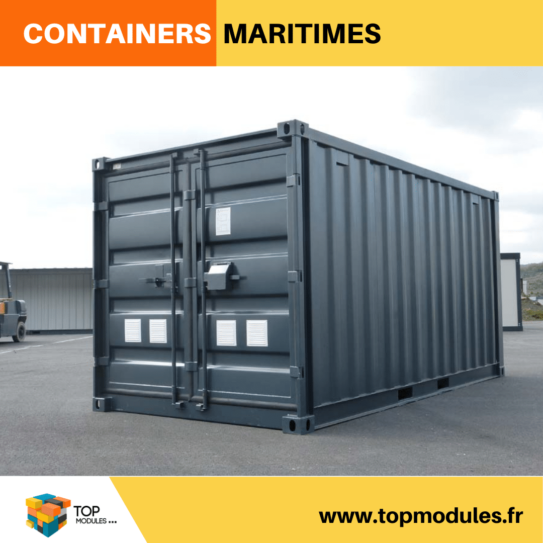 Lyon containers maritimes