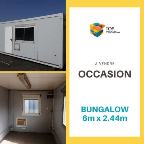 Bugalow occasion 6.2m x 2.4m 1